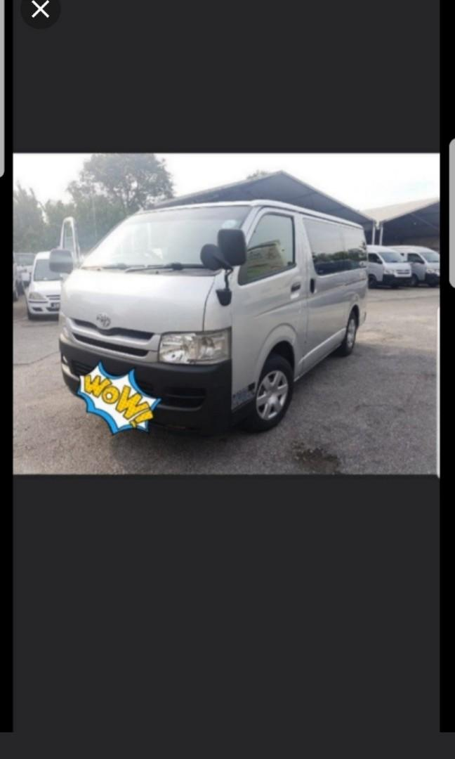 🎈LAST 3 VAN FOR LONG TERM RENTAL PROMO🎈