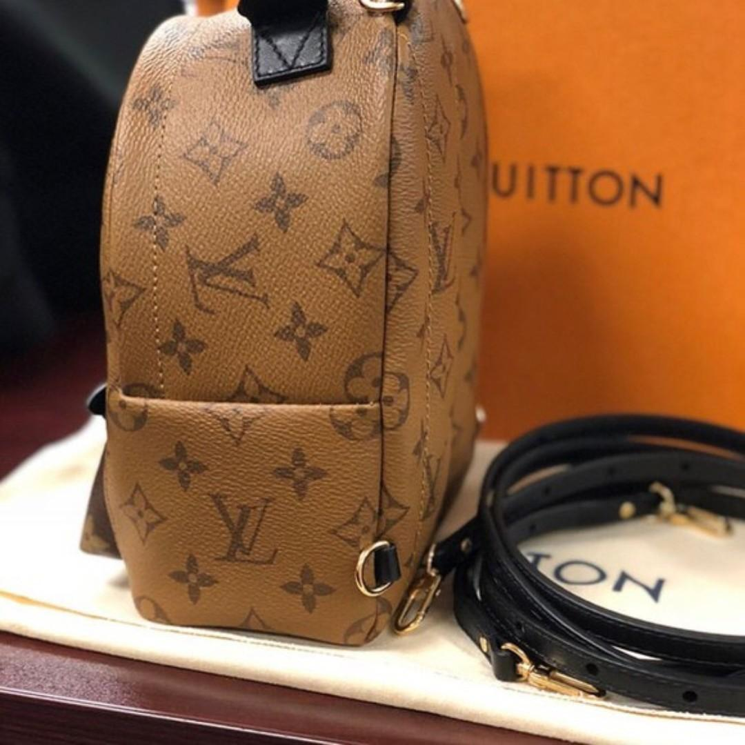 Louis Vuitton Reverse Monogram Backpack Palm Springs mini