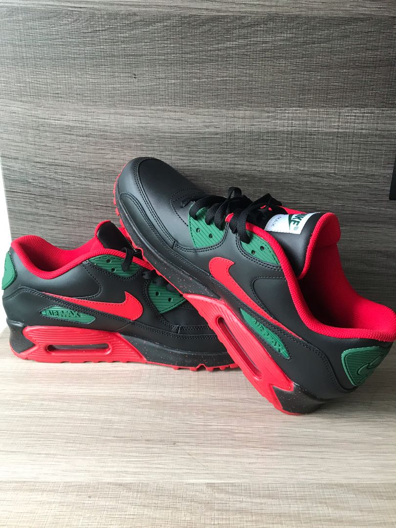 chaussures de sport af028 f8f70 Authentic Nike Air Max 90 NikeID, Men's Fashion, Footwear ...