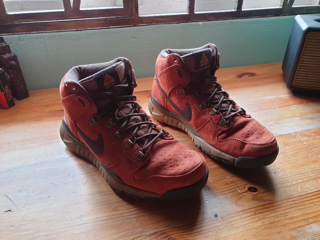 new product fc885 e3058 Nike SB X Poler Dunk High Oms, Men's Fashion, Men's Footwear ...