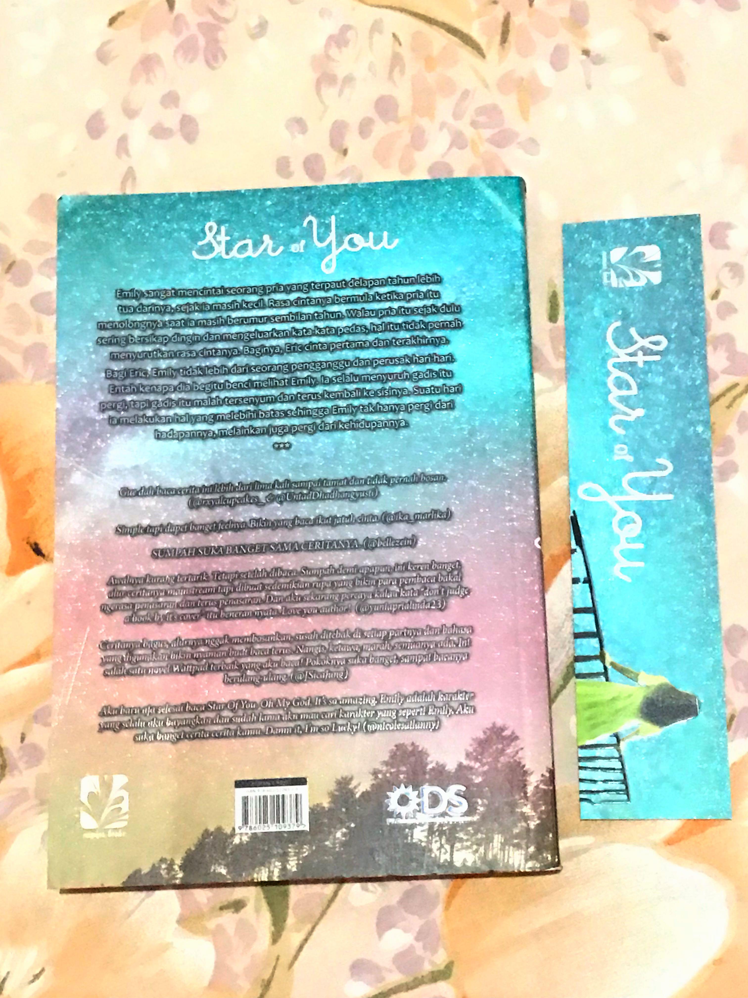 Novel - Star Of You ~ Shan A. Fitriani