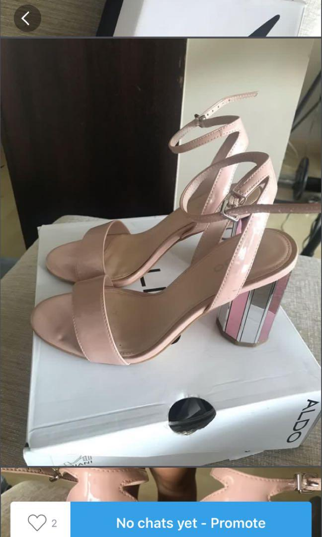 Nude Heels Strappy Sandal