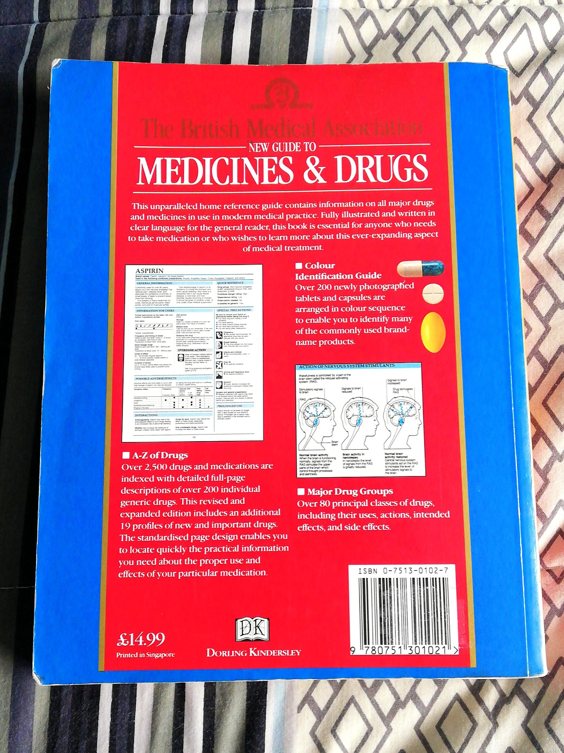 (Over 2,500 prescription medications!!) TBMA's New Guide to Medicines and Drugs