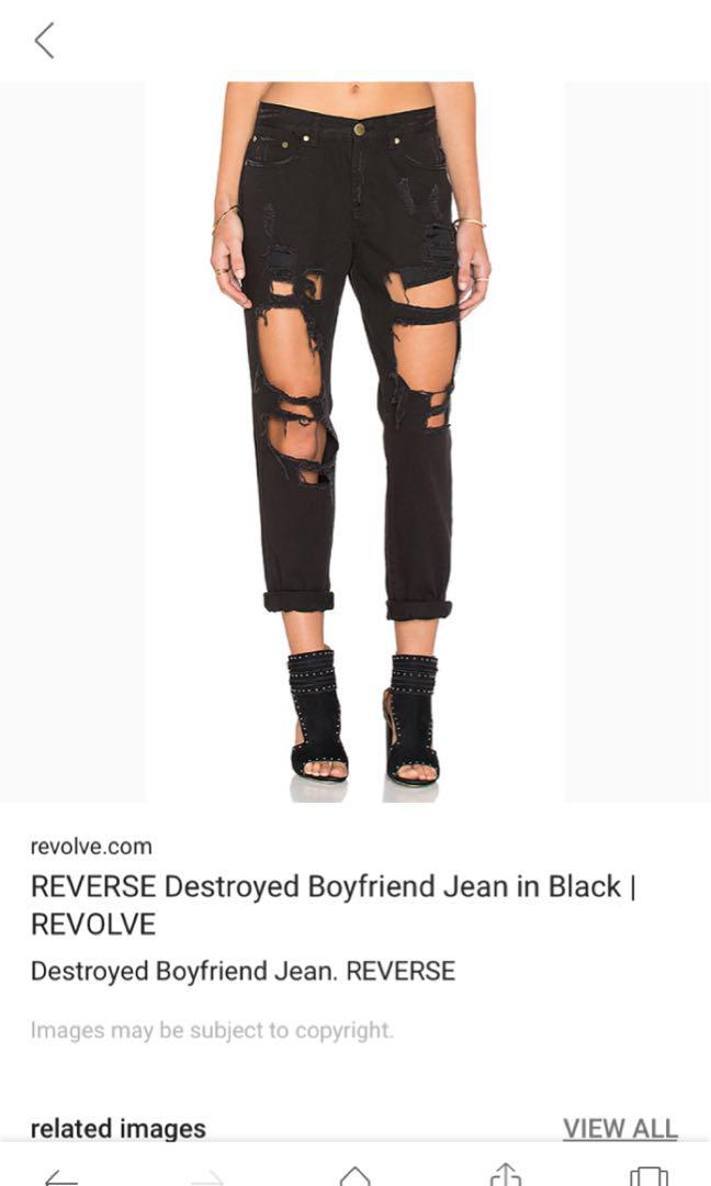 Ripped jeans blue