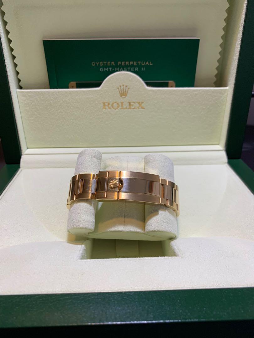 Rolex 116718 黃金GMT Master II