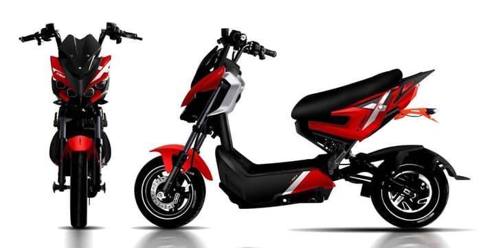 Sepeda Listrik Sunrace New F 1 1000w 72v 22 3a Motor Di Carousell