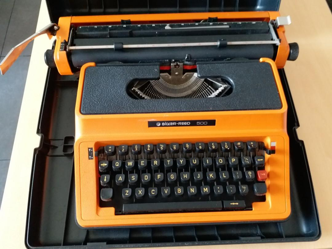 silver reed 打字機