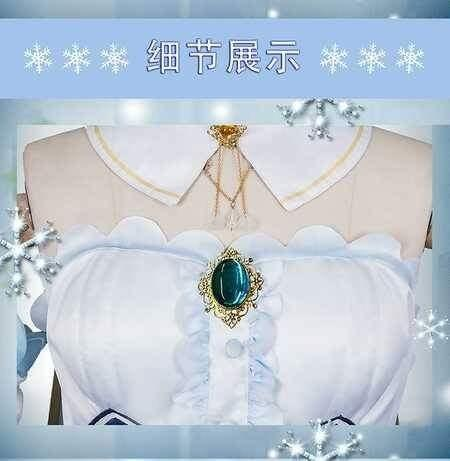 ❄SNOW MIKU 2019 DRESS COSPLAY CUTE LOLITA WOMEN FASHION❄
