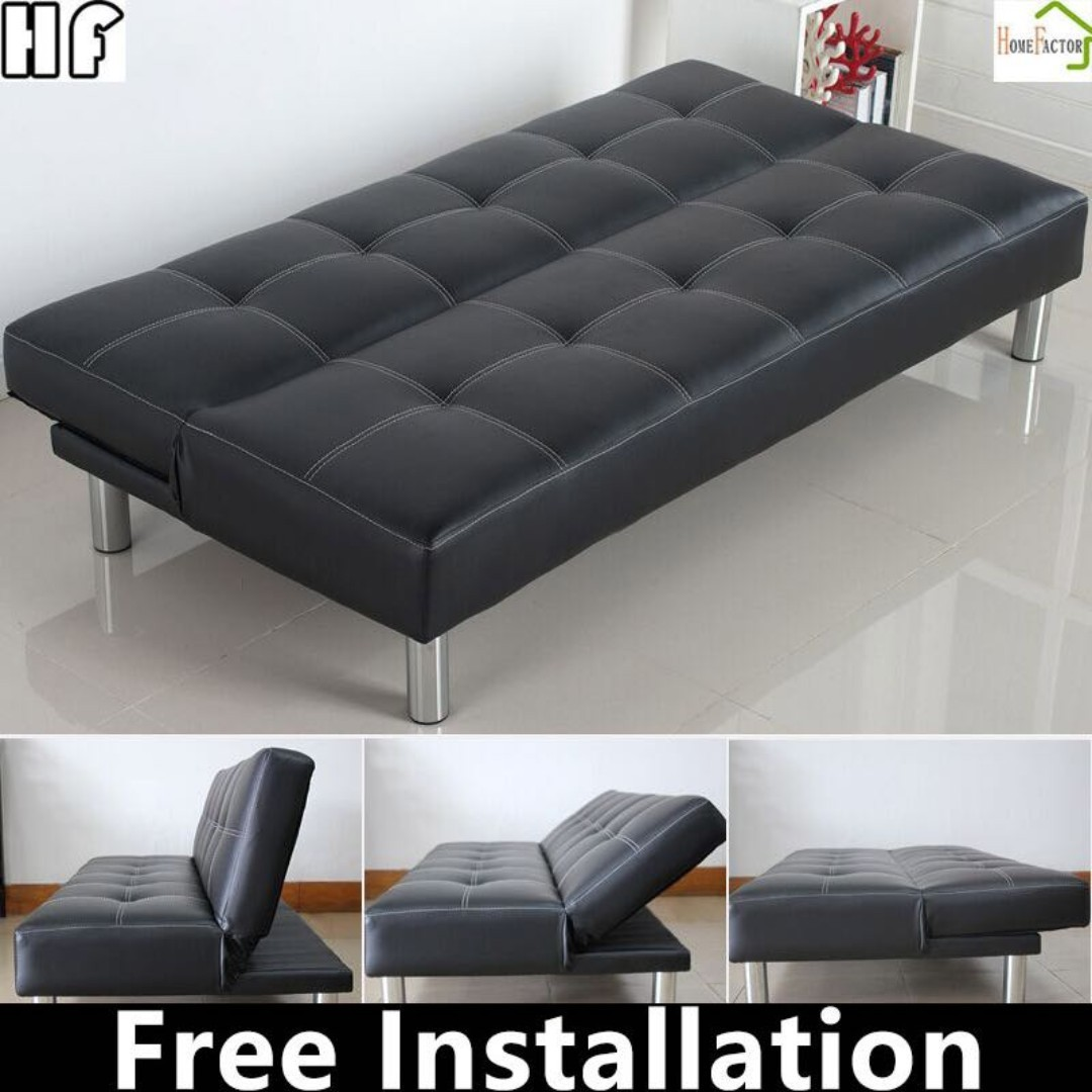Sofabed B01 Grey Brown Black Fast Delivery Furniture Sofas On