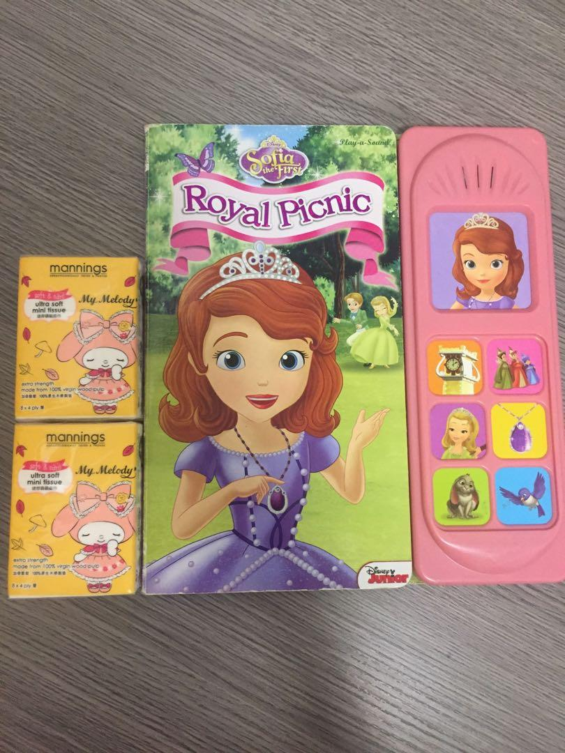 Sofia the first Royal Picnic