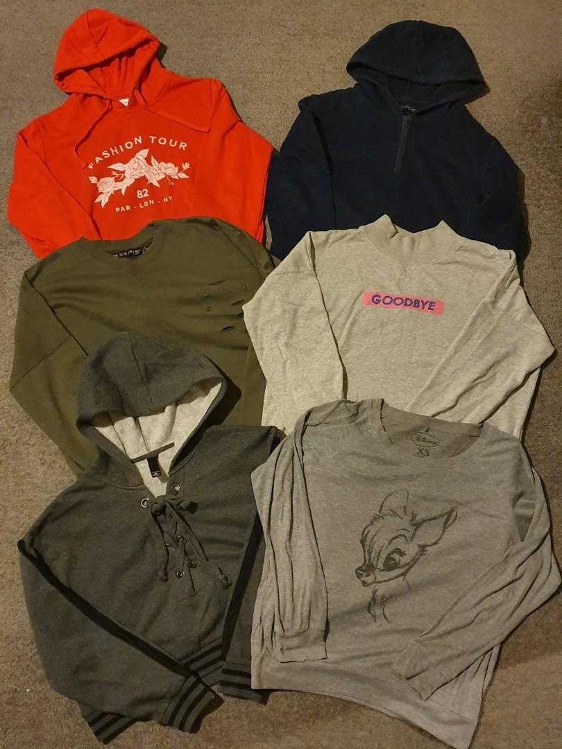 Sweaters, Hoodies and Jackets