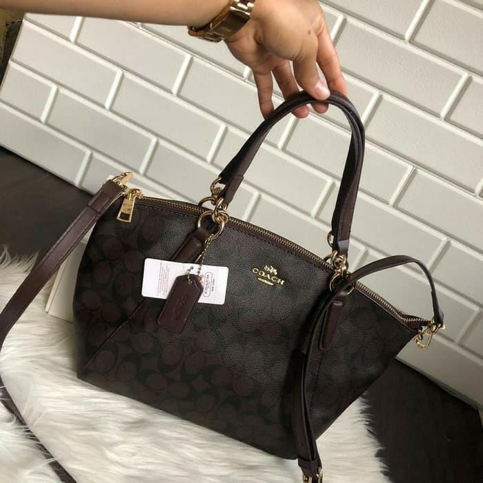 tas Coach Bag kelsey vintage signature premium HK tote bag sling bag #joinjuli