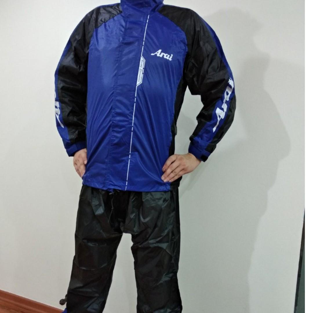 Ultra light Arai motorbike / motorcycle raincoat / jacket / rain coat for sale