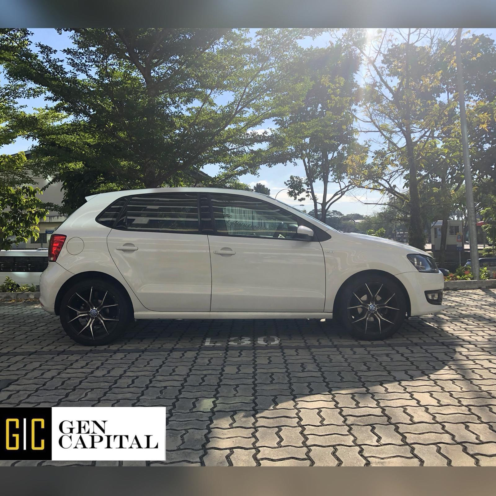 Volkswagen POLO 1.4 Grab Gojek Ryde Tada Friendly & Non PHV Car Rental