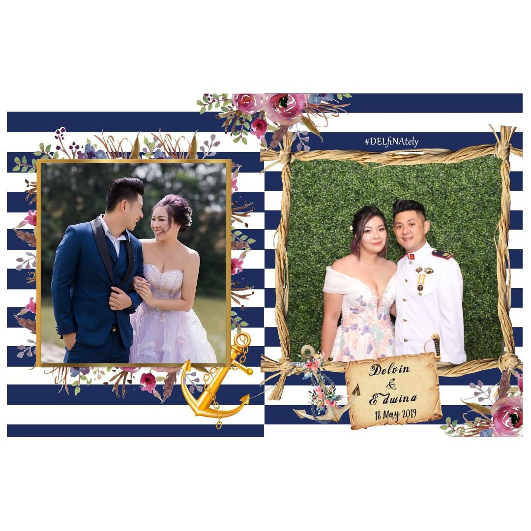 PROMOTION: Wedding Photobooth (Unlimited Instant Prints Photo Booth Service)