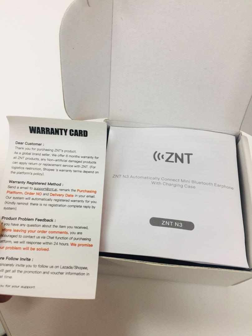 ZNT N3 bluetooth 5 0 Auto Connect, Mobile Phones & Tablets