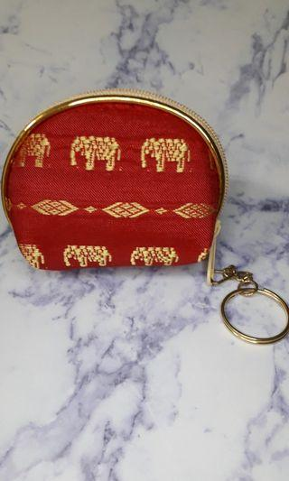 中國風鑰匙扣零錢包