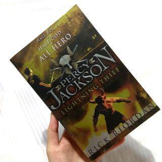 Percy Jackson and the Lighting Thief - Rick Riordan