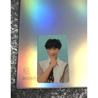 [WTS] BTS LOVE YOURSELF ANSWER F VER PHOTOCARD