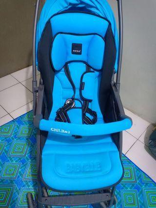 Stroller Baby Elle Citilite 2 warna biru