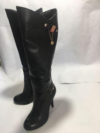 Black Boots sepatu Import