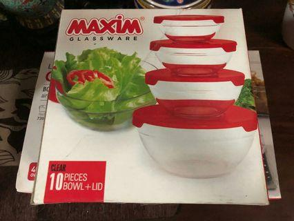 Steam it Tupperware maxim set