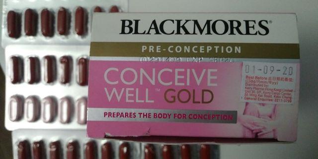 Blackmores孕前營養補充品(folic acid 葉酸)