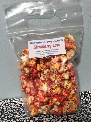 Prepacked Strawberry PopCorn 草莓爆米花
