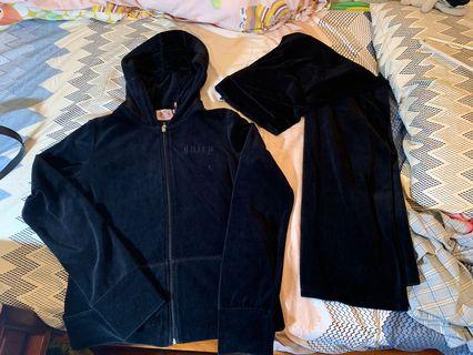 Juicy Couture 絨面運動服 velour tracksuit