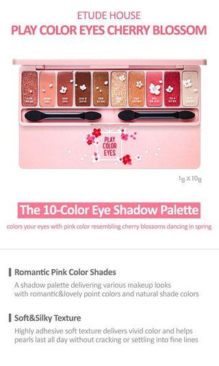 Etude House Play Colour Eyes Cherry Blossom Eyeshadow Palette