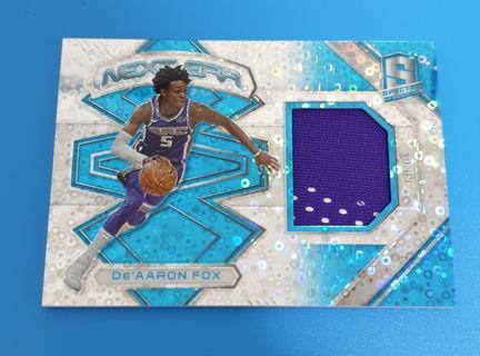 *RC* De'Aaron Fox Panini Spectra 2017-18 New Era #/99