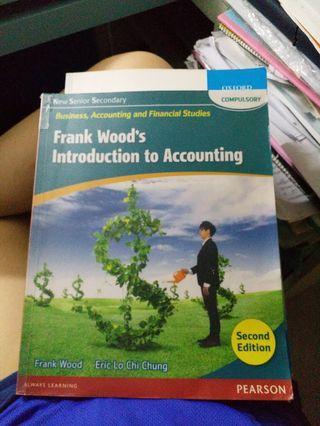 BAFS: NNS Frank Wood's Introduction to Accounting(Compulsory)(2nd Edition)