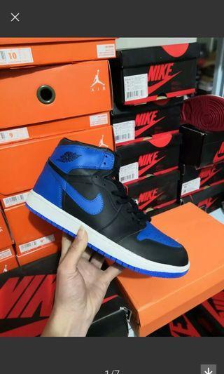 Air Jordan 1 黑籃 us12