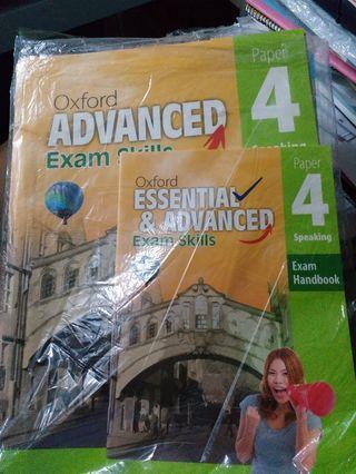 Oxford: Advanced exam skills Paper4 speaking