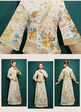 Chinese tea ceremony gown