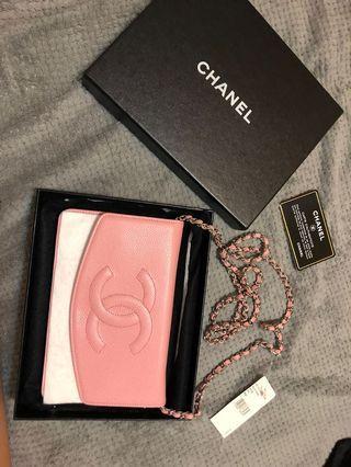 Chanel 香奈兒 包包 皮夾 全新