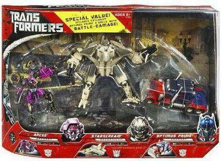Transformers MISB TFTM 3 Pack Exclusive