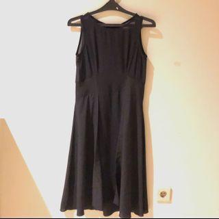 Black Dress Slit X.SML