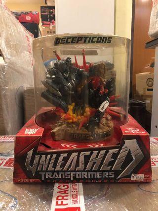 Transformers MISB TFTM Decepticon Turnaround Set