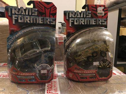 Transformers MISB TFTM Deluxe Class