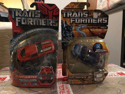Transformers MISB Deluxe Class Set 2