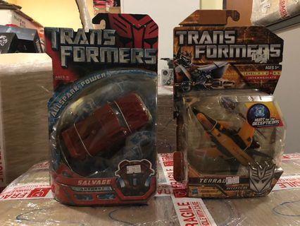 Transformers MISB Deluxe Class Set 3