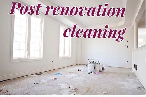 Home Cleaning Services - Post Reno HIP BTO CONDO RENTAL