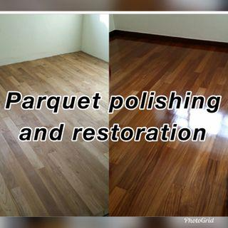 Parquet and Marble floor polishing and restoration