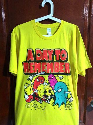 🚚 Authentic A Day To Remember (ADTR) Concert Tee (Yellow)