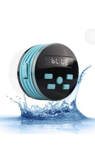 Shower Speaker, Expower IPX7 Bluetooth Speakers Shower Radio with FM, Waterproof Shower Speaker with Suction Cup, 5W Driver, Buit-in Mic, Hands-Free Speakerphone