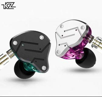 KZ ZSN 2nd Gen HiFi Hybrid Technology IEM with/without Mic + FOAM TIPS + 1 Month Warranty 1-1 Exchange <INSTOCK>