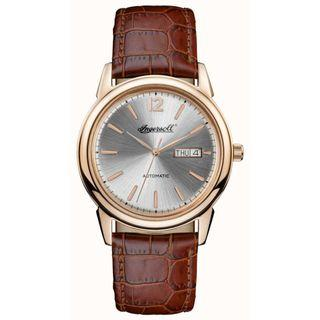 Ingersoll Mens 1892 The New Haven Brown Leather Strap