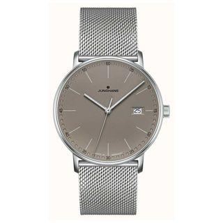 Junghans FORM Quartz Grey Leather Grey Dial Watch