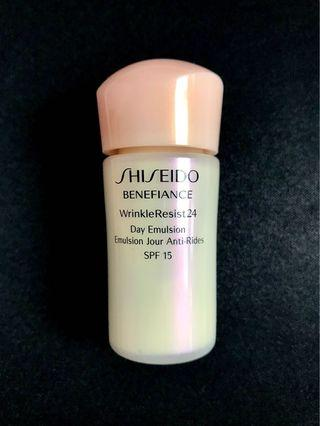 🇯🇵 SHISEIDO BENEFIANCE WrinkleResist24 Day Emulsion SPF15 資生堂 BENEFIANCE 抗皺日間乳液
